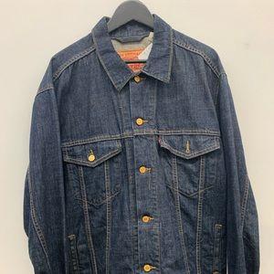Levi's vintage denim jacket men's size XL